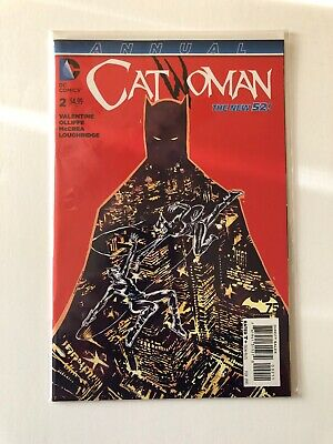Catwoman Annual #2 DC Comics The New 52