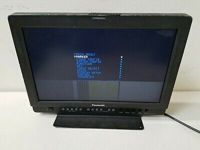 "Panasonic Bt-Lh1710P 17"" Professional Video Monitor With Stand"
