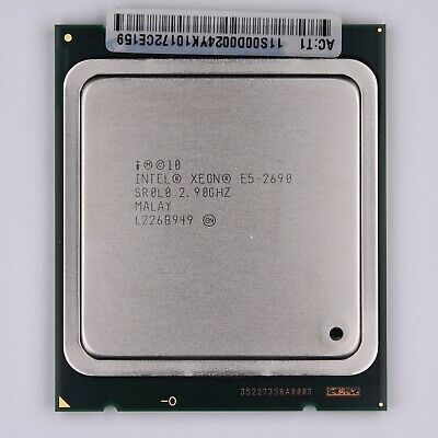 Intel Xeon E5 2690 2.9GHz CPU SR0L0
