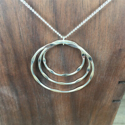 Ring Multi-layer overlapping Necklace pendant Creative
