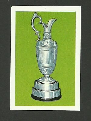 Golf British Open 1979 Colgate Sport Trophy Card MINT