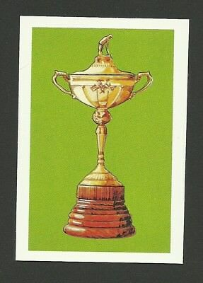Golf Ryder Cup 1979 Colgate Sport Trophy Card MINT