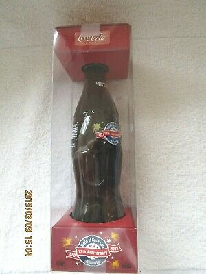 2003 World of Coca Cola ATLANTA 13th ANNIVERSARY 8 oz. Coke Bottle & Box