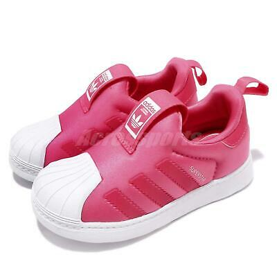 half off e8fda a1aeb adidas Originals Superstar 360 I Pink White TD Toddler Infant Baby Shoes  F97623