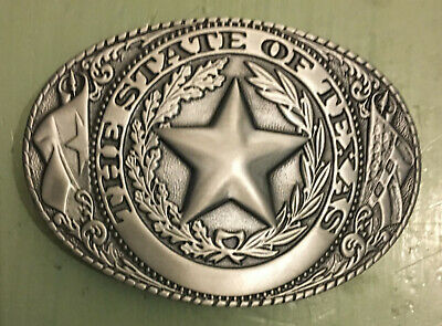 State Of Texas Seal Belt Buckle New