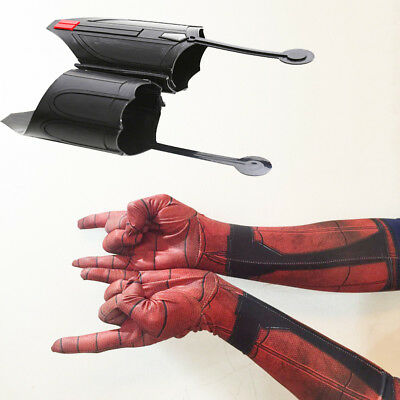 1 Pair Spider-Man Homecoming Spiderman Peter Parker Web Shooter Cosplay Prop US