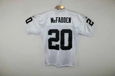 fdf19d274 Reebok NFL Equipment Oakland Raiders Darren McFadden Jersey Men's L White