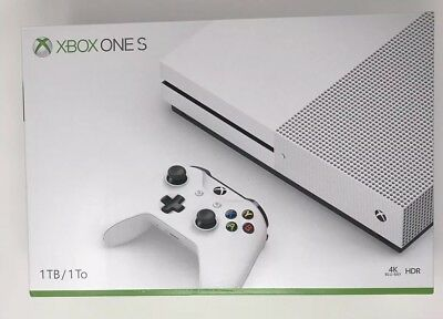 Xbox One S 1TB Console White & 1 Month Live & Game Pass & Destiny 2 Game Free