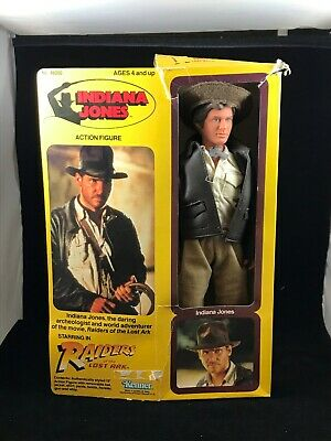 "Kenner Indiana Jones 1981 Raiders of the Lost Ark 12"" Action Figure w Box VGC"