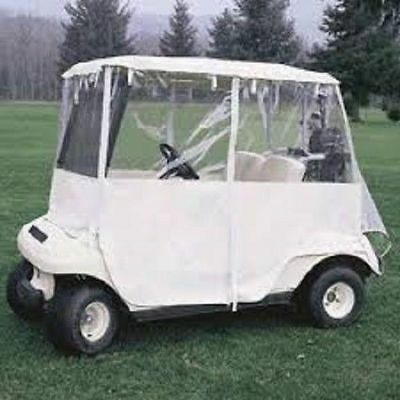 CLASSIC ACCESSORIES Deluxe Drivable 2-Person Golf Cart Cover #72073- UNUSED COND