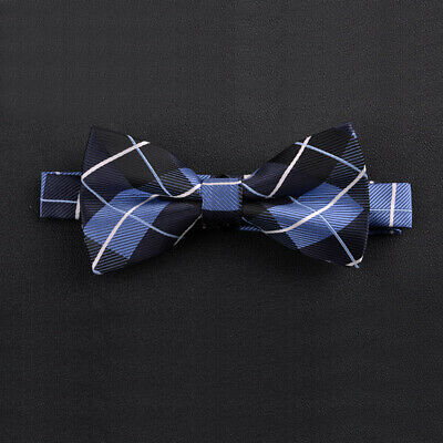#9 Novelty Hot Necktie Pre-Tied Tuxedo Satin Bow Tie Adjustable Silk Men Tie