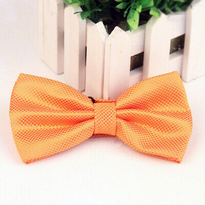 #13 Tuxedo Party Novelty Mens Bowtie Adjustable Tie Solid Color Necktie Classic