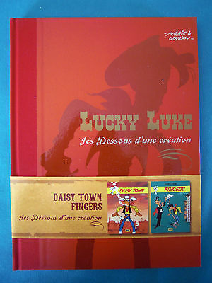 "Lucky Luke ""daisy Town And Fingers"" The Below D'une Creation """