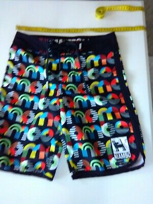 Boys Mambo Board Shorts, Size 12, Polyester