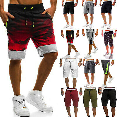 Mens Casual Summer Workout Fitness Jogging Running Sport Shorts Pants Trousers