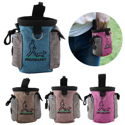 Dog Training Treat Snack Bait Portable Pet Feed Pocket Waist Pouch Outdoor