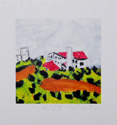 Laixing Cheng - Landscape - Hand signed