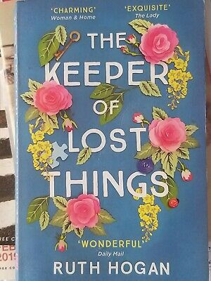 The Keeper Of Lost Things By Ruth Hogan, Book, Fiction, Paperback