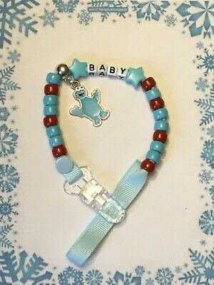 ~ Personalised Character Dummy Clip/Toy Holder ~