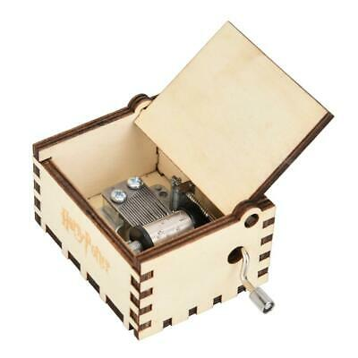 Music Box Engraved Wooden Harry Potter Music Box Interesting Toys for Kids Gifts