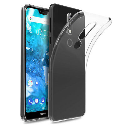 Case Cover Gel UltraSlim TPU Clare Silicone for Nokia 7.1 (2018) 5.84""