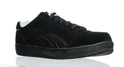 dd5f3ecd3dc6 Reebok Mens Soyay Black Oxford Safety Shoes Size 8.5 (129885)