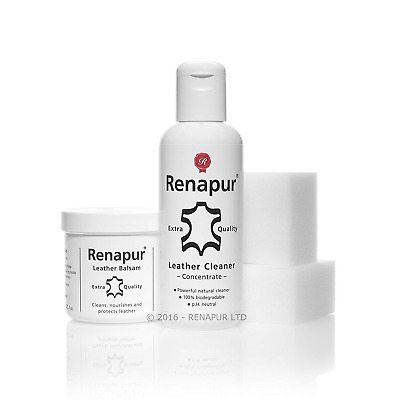 Renapur Clean & Feed Kit - Leather Care