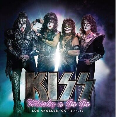 Kiss Rare Live Cd Los Angeles Ca Usa 2019 Incl.numbered Sticker