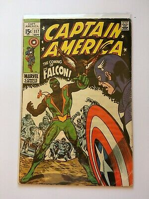 Captain America #117 (first appearance of Falcon) in good condition
