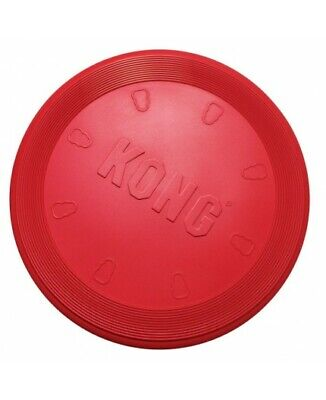 Kong Frisbee Grande Rosso Per Cani  Dog Red Large Flyer
