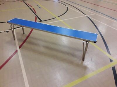 Folding seating benches