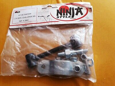 Kit Biellette De Fixation Échappement Ninja Chalenge -Low-Boy Peugeot 103 Sp/mvl
