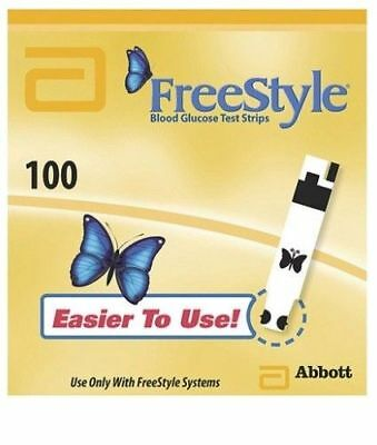 Regular FreeStyle Test Strips 100ct [EXP: 3 Months+] [Ding]