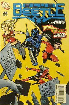Blue Beetle (DC Vol 2) # 33 Near Mint (NM) DC Comics MODERN AGE
