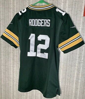 Hot GREEN BAY PACKERS Jersey #12 Aaron Rodgers Nike size 48 $39.99  supplier