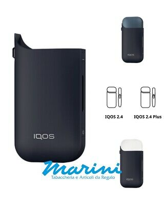 Cover Slim IQOS-2.4 normale e 2.4 Plus - Colore Blu notte Night Blue