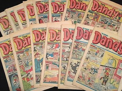 15 x Dandy Comics 1979-86