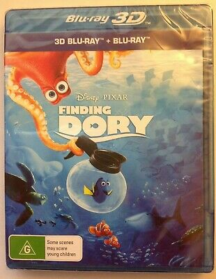 FINDING DORY 3D (Blu-ray) *NEW/SEALED* Plays in 2D also. Disney PIXAR