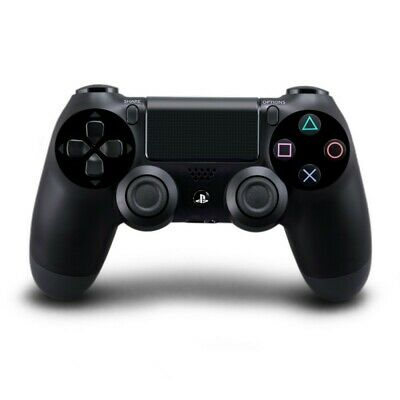 PS4 - orig. Wireless DualShock 4 Pad #Jet Black / schwarz V1 [Sony] Top Zustand