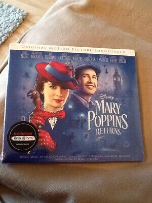 Mary Poppins Returns Cd Soundtrack New Sealed Hmv Exclusive