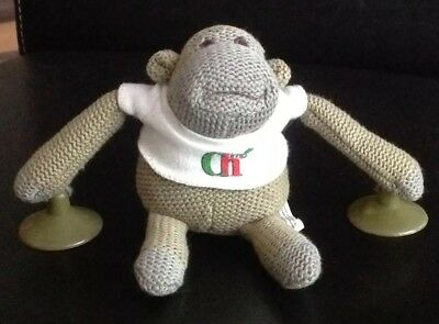 DOUBLE-SIDED COLLECTABLE KEYRING PG TIPS MONKEY PG TIPS LOVE TEA ADVERT