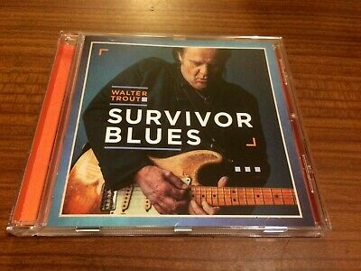 WALTER TROUT Survivor Blues CD 2019 NEW Sealed