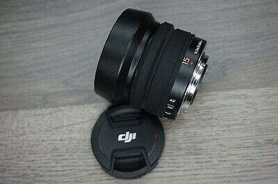DJI 15mm f/1.7 MFT ASPH Prime Lens for Zenmuse X5 and X5R Cameras