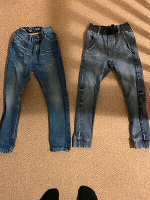 Next Boys Age 7 Years Jeans 7/8 H&M Jeans Joggers