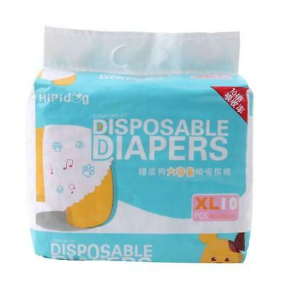 Breathable Pet Diapers Female Dog Disposable Leakproof Nappies Puppies Pants H