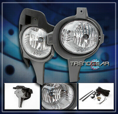 05 06 07 08 Toyota Hilux Vigo Mk6 Sr5 Bumper Driving Clear Fog Light Lamp+Switch
