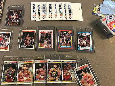 CARD COLLECTION Basketball Larry Bird Pippen RC Magic Huge Lot Over 170 Cards