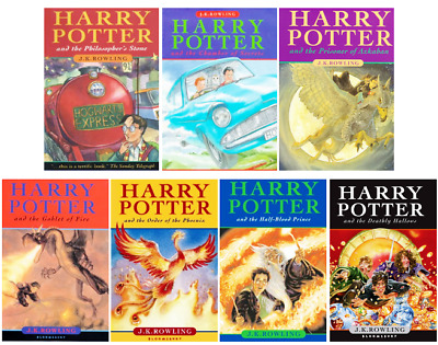 7 Audiobook - Harry Potter Complete Books Series By J.K Rowlings Mp3 Format DVD