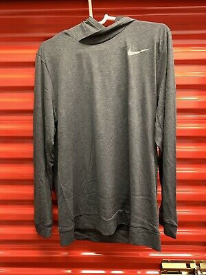 6152579e Nike X Adonis Creed Men Dri-Fit Long Sleeve Hoodie CK4171 060 Dark Gray XL