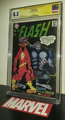 CGC 8.5 ss Joe Giella Flash 172 Gorilla Grodd Rare Cover. Only two CGC SS Census